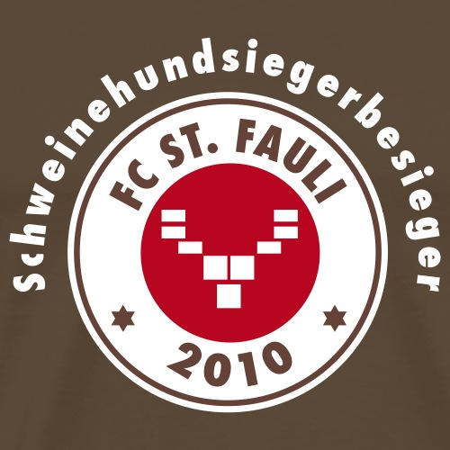 schweinehundsiegerbesieger - Männer Premium T-Shirt