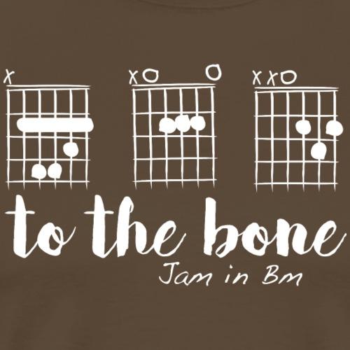 B A D to the bone - T-shirt Premium Homme