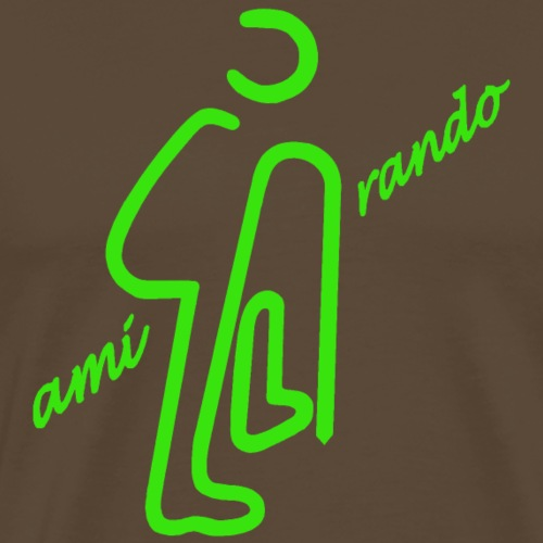 Amirando18 vert - T-shirt Premium Homme
