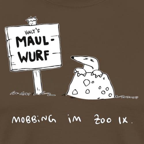 Mobbing Maulwurf - Männer Premium T-Shirt