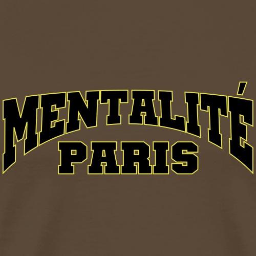 MENTALITE PARIS - T-shirt Premium Homme