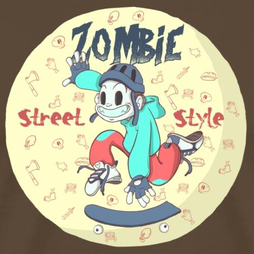 Zombie_StreetStyle.png - Camiseta premium hombre