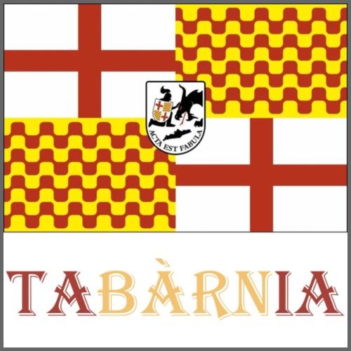 Bandera Tabarnia con escudo y nombre - Camiseta premium hombre