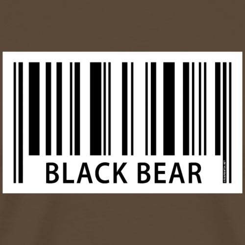 EAN Black Bear Textiles, Gifts, and Products - Miesten premium t-paita