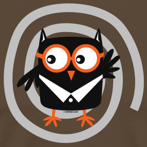 FP10-55 SUIT OWL - TEXTILE AND GIFT PRODUCTS - Miesten premium t-paita