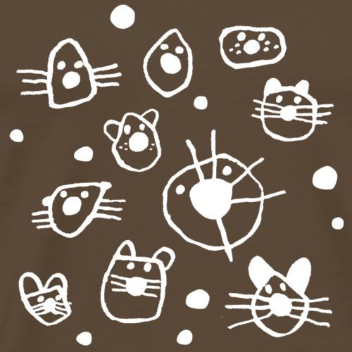 Katzenköpfe - Männer Premium T-Shirt
