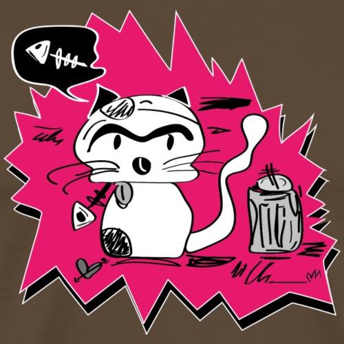 little bad cat - Männer Premium T-Shirt