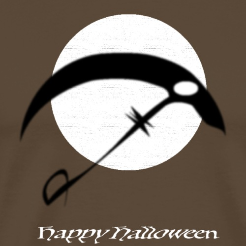 Halloween sickle in the night - Männer Premium T-Shirt