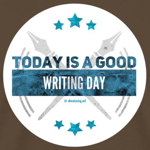 Writing Day - Mannen Premium T-shirt