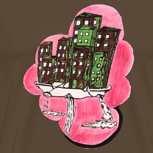 Design, bunt, haus, shirt,geschenk,idividuell - Männer Premium T-Shirt