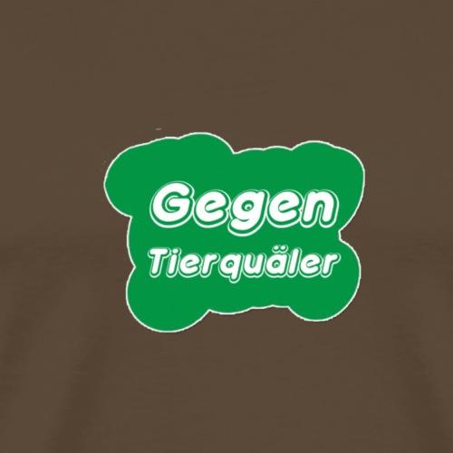 flubbers gegen Tierquaelerr - Männer Premium T-Shirt