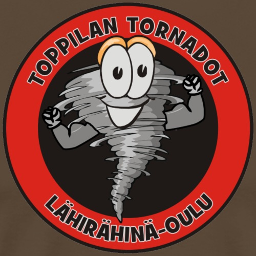 Toppilan Tornadot - Miesten premium t-paita