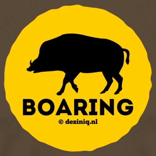 Boaring - Mannen Premium T-shirt