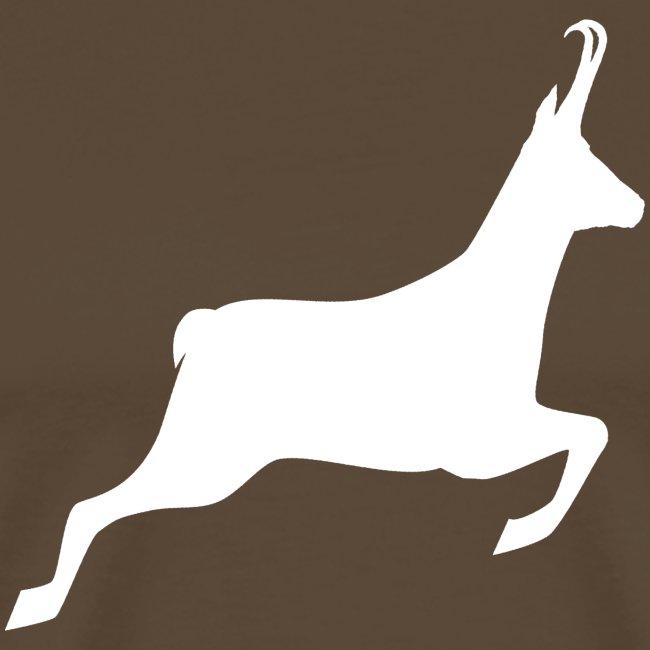 T-shirt Chasse personnalisable - motif chamois
