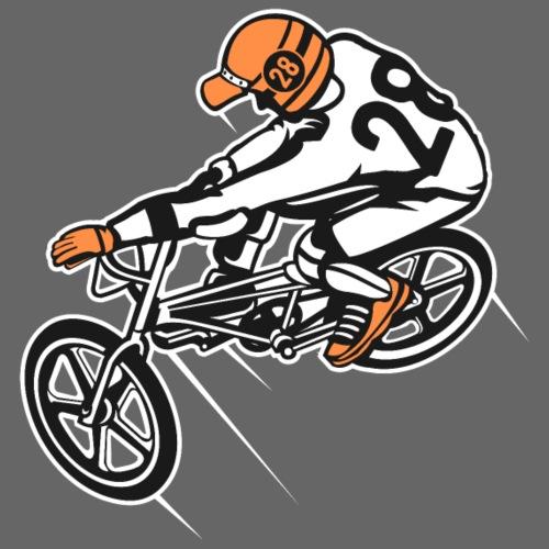 BMX Fahrrad / Bike 01_dreifarbig - Männer Premium T-Shirt