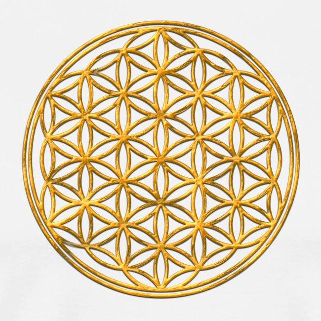 Flower of life GOLD 2