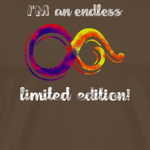 Endless Limited Edition - Infinity Rainbow - Maglietta Premium da uomo