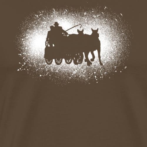 Remise en cadeau de marathon en détresse - T-shirt Premium Homme