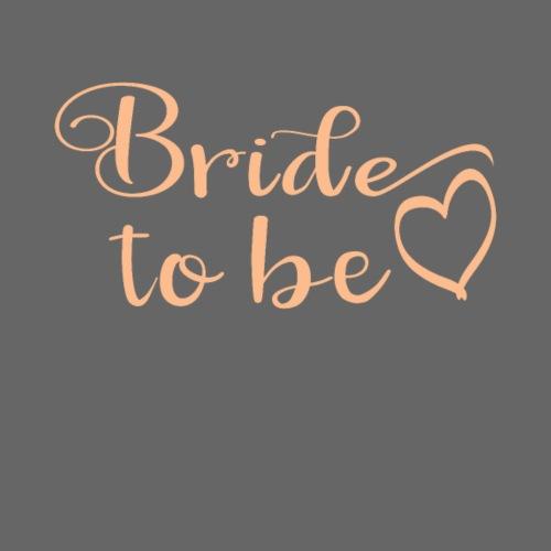 JGA Gruppenshirt Bride to be Braut