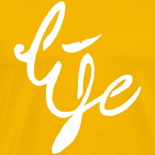 Life Logo simple white
