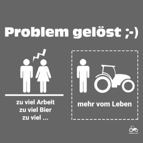 Problem gelöst - Männer Premium T-Shirt