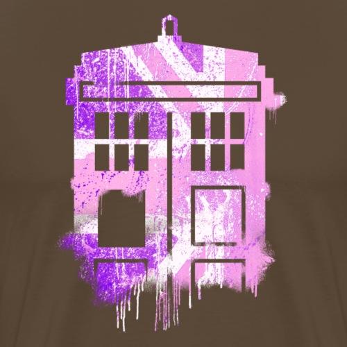 tardis pink - Men's Premium T-Shirt