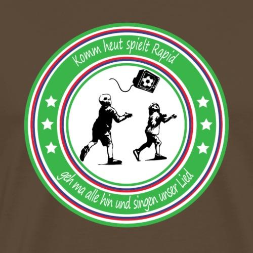 Singen wir unser Lied! Handy & Tablet Hüllen - Männer Premium T-Shirt