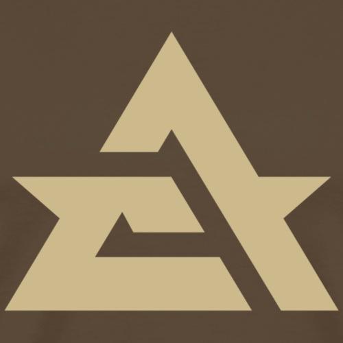 Alex Cast Official logo Graphic Art - Miesten premium t-paita
