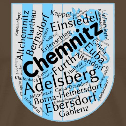Chemnitz Ortsteile - Männer Premium T-Shirt