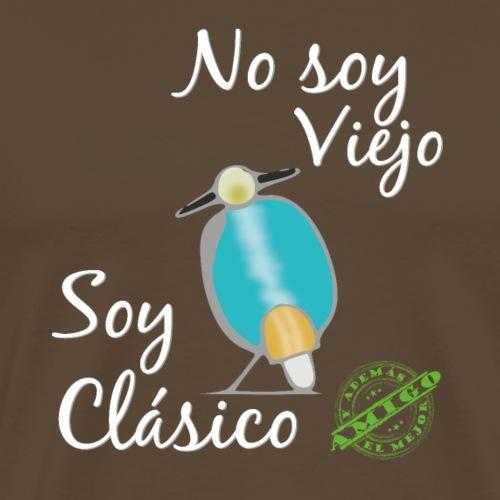 Moto Clásica y Mejor Amigo - Camiseta premium hombre