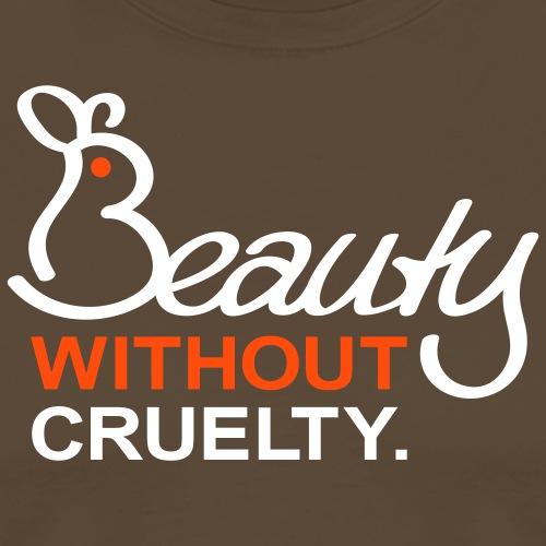 Beauty Without Cruelty - Männer Premium T-Shirt