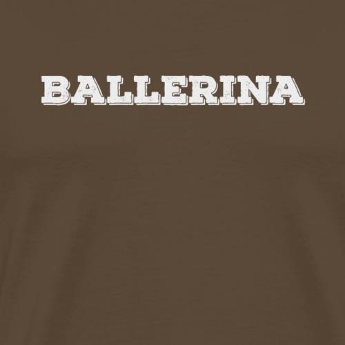 Ballerina-vintage - Männer Premium T-Shirt