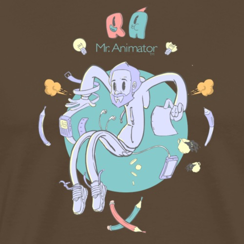 Mr. Animator. - Camiseta premium hombre