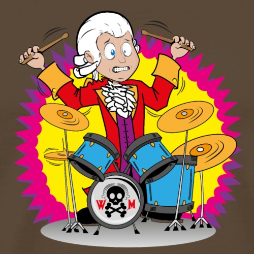 Mozart Drums - Männer Premium T-Shirt