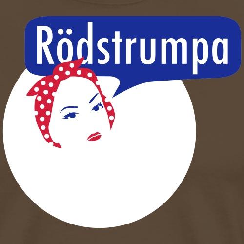 RÖDSTRUMPA 2 - Premium-T-shirt herr