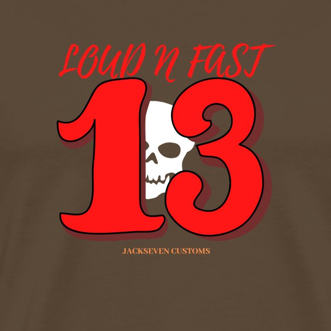 Loud n Fast 13 Jackseven customs Skull Biker