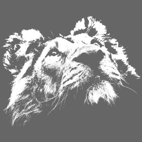 Lion Face - White Edition