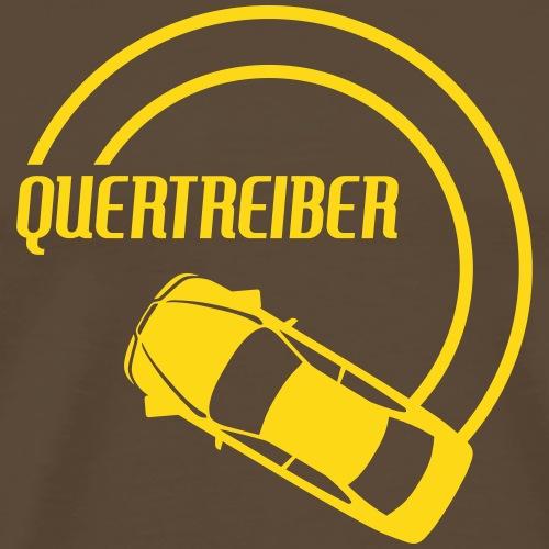 Quertreiber 1 - Männer Premium T-Shirt