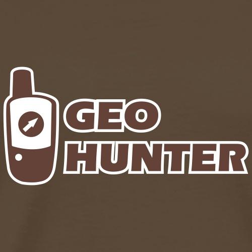 Outdoor-Adventure GPS Geocaching Geohunter - Männer Premium T-Shirt