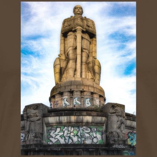 Hamburg Bismarkc Monument - Männer Premium T-Shirt