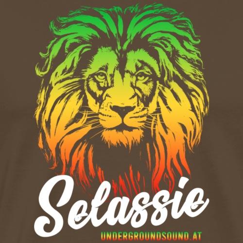 Selassie I Lion Undergroundsound - Männer Premium T-Shirt