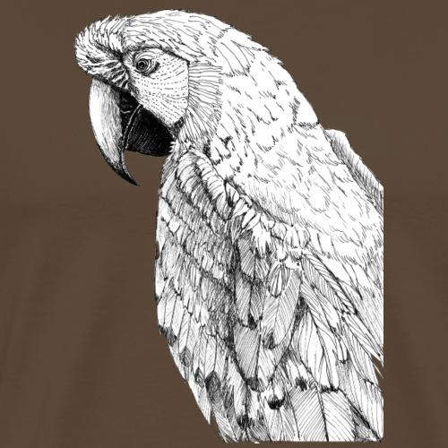 macaw - Herre premium T-shirt