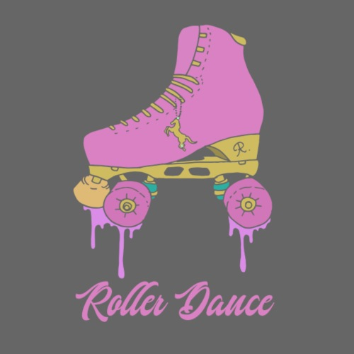 GHquad vecto roller dance pink - T-shirt Premium Homme
