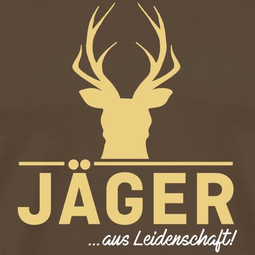 Jäger aus Leidenschaft! Jäger Shirt Jaeger Shirt - Männer Premium T-Shirt