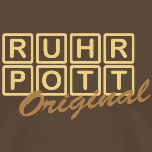 RUHRPOTT - Original - Männer Premium T-Shirt