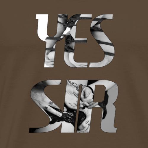 Yes Sir - Men's Premium T-Shirt
