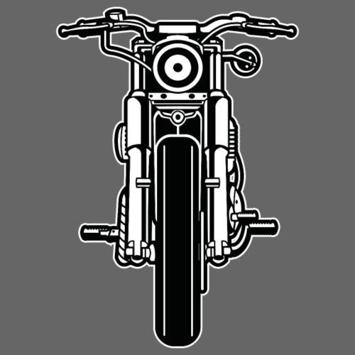 Motorrad / Motorcycle 03_schwarz weiß - Männer Premium T-Shirt