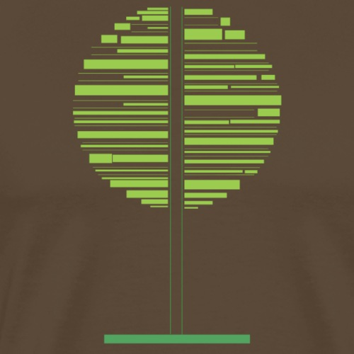 Grønt træ - Herre premium T-shirt