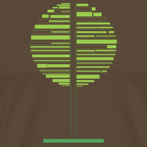 Green tree - Men's Premium T-Shirt