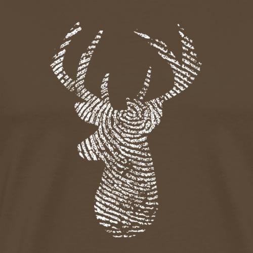 Roosevelt's Hirsch - Männer Premium T-Shirt
